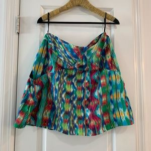 Silk mini skirt from Anthropologie- size 8